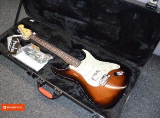Obrázek č.1 article Limitovaná edice Fender American Deluxe Mahogany Stratocaster HSS