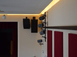 Obrázek č.1 article Musicdata instalace - rekonstrukce sokolovny Luže