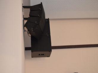 Obrázek č.2 article Musicdata instalace - rekonstrukce sokolovny Luže