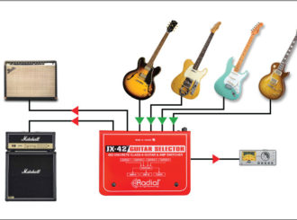 Obrázek č.2 article Radial JX-42 guitar selector