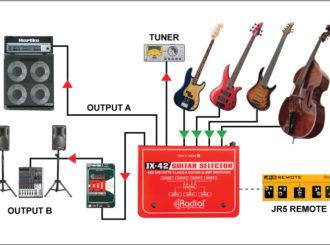 Obrázek č.3 article Radial JX-42 guitar selector
