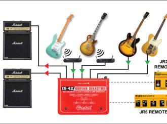 Obrázek č.4 article Radial JX-42 guitar selector