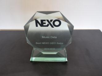 "Obrázek č.5 article Nexo ocenilo Musicdata jako ""best Nexo Geo sales"""