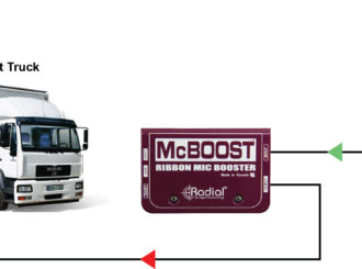 Radial McBoost mic signal booster