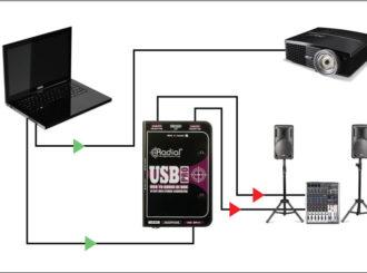 Obrázek č.6 article Radial USB Pro