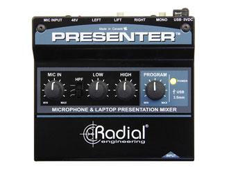 Radial Presenter