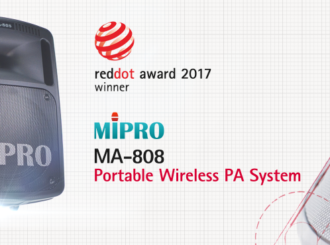 Obrázek č.5 article Mobilní ozvučovací systém MIPRO MA-808 vítězem reddot award 2017