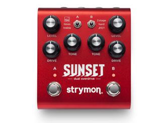 Strymon Sunset Dual Overdrive již brzy v našem e-shopu