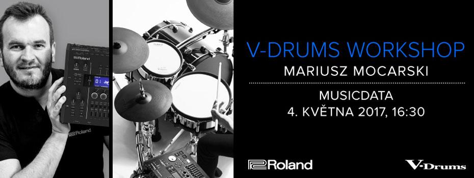 Roland V-Drums Workshop (Mariusz Mocarski)