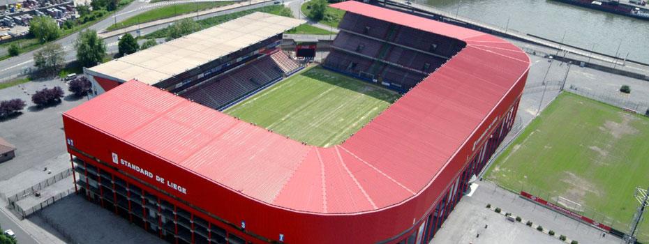 Belgický fotbalový stadion získal nový NEXO PA systém
