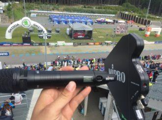 Obrázek č.1 article Bezdrátové systémy Mipro na Světovém poháru horských kol 2017