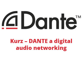 Kurz – DANTE a digital audio networking