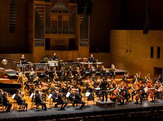 NEXO GEO M6 line array v koncertní aréně v Melbourne