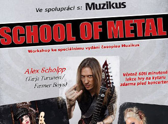 Workshop – School of Metal v MusicData