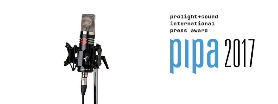 Mojave Audio MA-1000 vítězem pipa award 2017