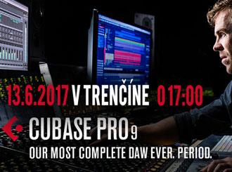Workshop – Steinberg Cubase Pro 9