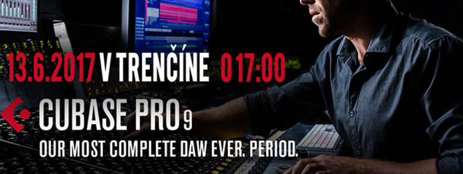 Workshop – Steinberg Cubase Pro 9