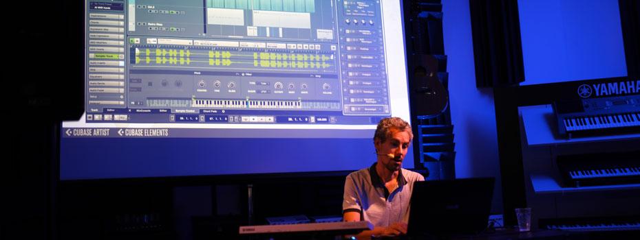 Workshop Steinberg Cubase Pro 9 (přednášející Roland Kánik)
