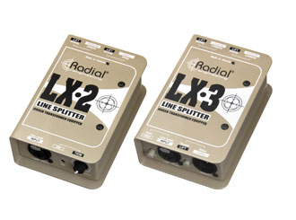 Radial LX2 a Radial LX3