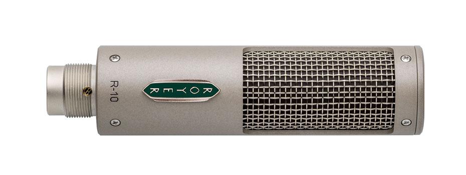 Royer Labs R-10 – nový páskový mikrofon pro živé a studiové aplikace