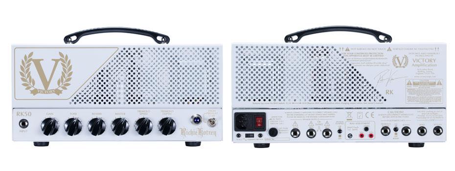 Kytarový zesilovač Victory Amplifiers RK50 Richie Kotzen skladem
