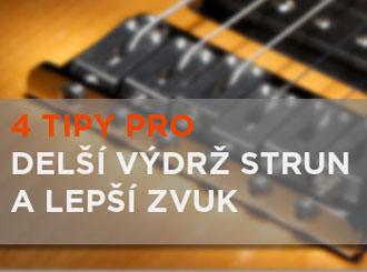 4 tipy na lepší ladění kytary, životnost strun a zvuk