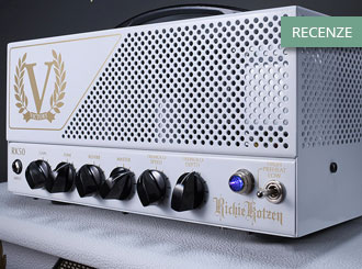 Jak si v testu vedl zesilovač Victory Amplifiers RK50?