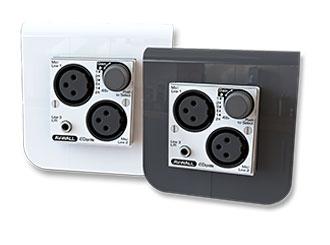 AuviTran AV-WALL - super-kompaktní Dante rozhraní pro montáž na stěnu