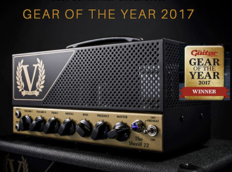 Victory Amps Sheriff 22 oceněn jako Gear of the Year