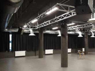 Rekonstrukce tanečního sálu v Horáckém divadle Jihlava