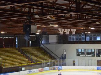 Nové ozvučení zimního stadionu Benešov