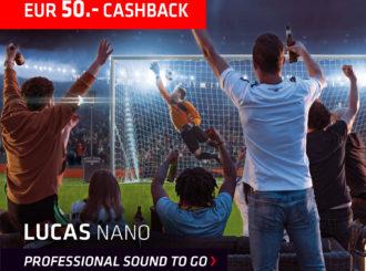 LUCAS NANO 50€ CASHBACK AKCE