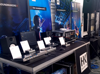 HK Audio a Hughes and Kettner na Festiwallu 2018