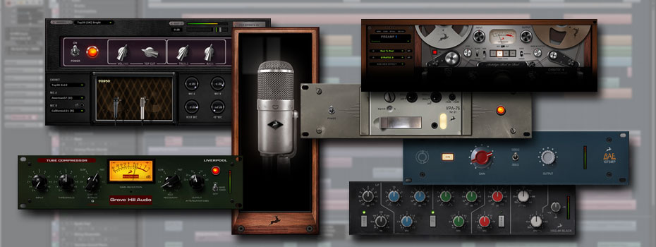 Antelope Audio pluginy v DAW