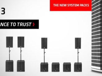 HK Audio Linear 3 Pack - nové sestavy aktivních PA systémů
