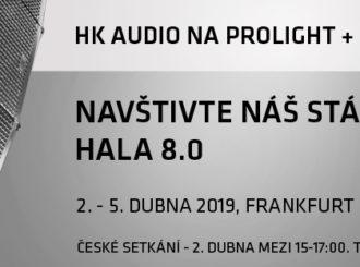 Obrázek č.1 article Výstava Prolight & Sound, Frankfurt 2. -5.4. 2019