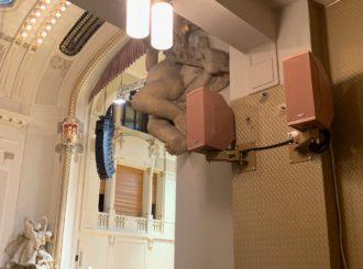 Obrázek č.17 reference Nexo STM Line Array ve Smetanově síni Obecního domu