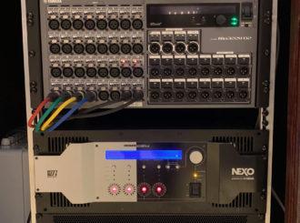 Obrázek č.20 reference Nexo STM Line Array ve Smetanově síni Obecního domu