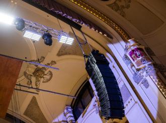 Obrázek č.6 reference Nexo STM Line Array ve Smetanově síni Obecního domu
