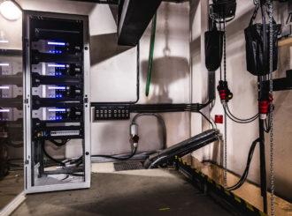 Obrázek č.16 reference Nexo STM Line Array ve Smetanově síni Obecního domu