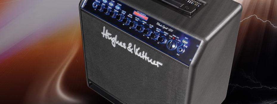 Hughes & Kettner Black Spirit 200 Combo a box TM 112 Pro