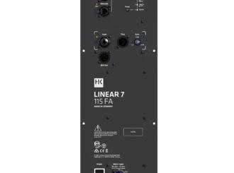 Obrázek č.6 article HK Audio Linear 7 - profesionální PA reprosoustavy s pokročilou síťovou komunikací