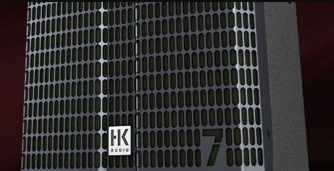 HK Audio Linear 7 - profesionální PA reprosoustavy s pokročilou síťovou komunikací