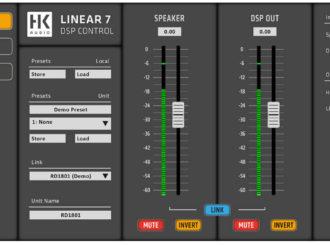 Obrázek č.8 article HK Audio Linear 7 - profesionální PA reprosoustavy s pokročilou síťovou komunikací