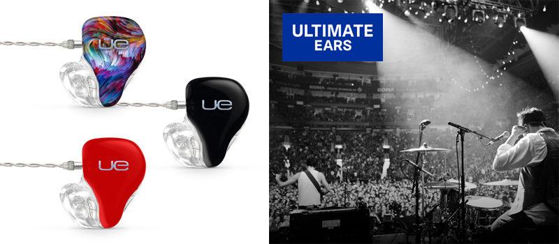 Ultimate Ears – speciální akce na IEM sluchátka UE 11, UE18+ a UE LIVE