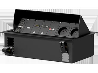Caymon CASY - instalační prvky s využitím v audio, video, data a power distribuci