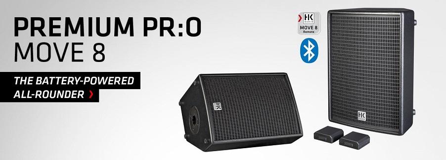 HK Audio PREMIUM PRO MOVE 8 - nová aktivní multifunkční reprosoustava