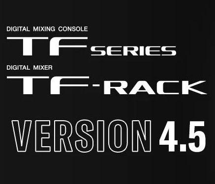 Nejnovější aktualizace řady TF na verzi 4.5 přidává presety mikrofonů Audix