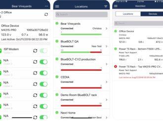 BlueBOLT® - aplikace pro vzdálenou správu napájení