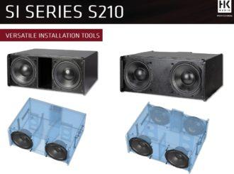 HK Audio subwoofery SI SERIES - S 210 V a S 210 P